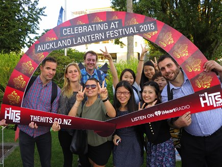 DynaSpeak Social Club: Lantern Festival in Albert Park - February