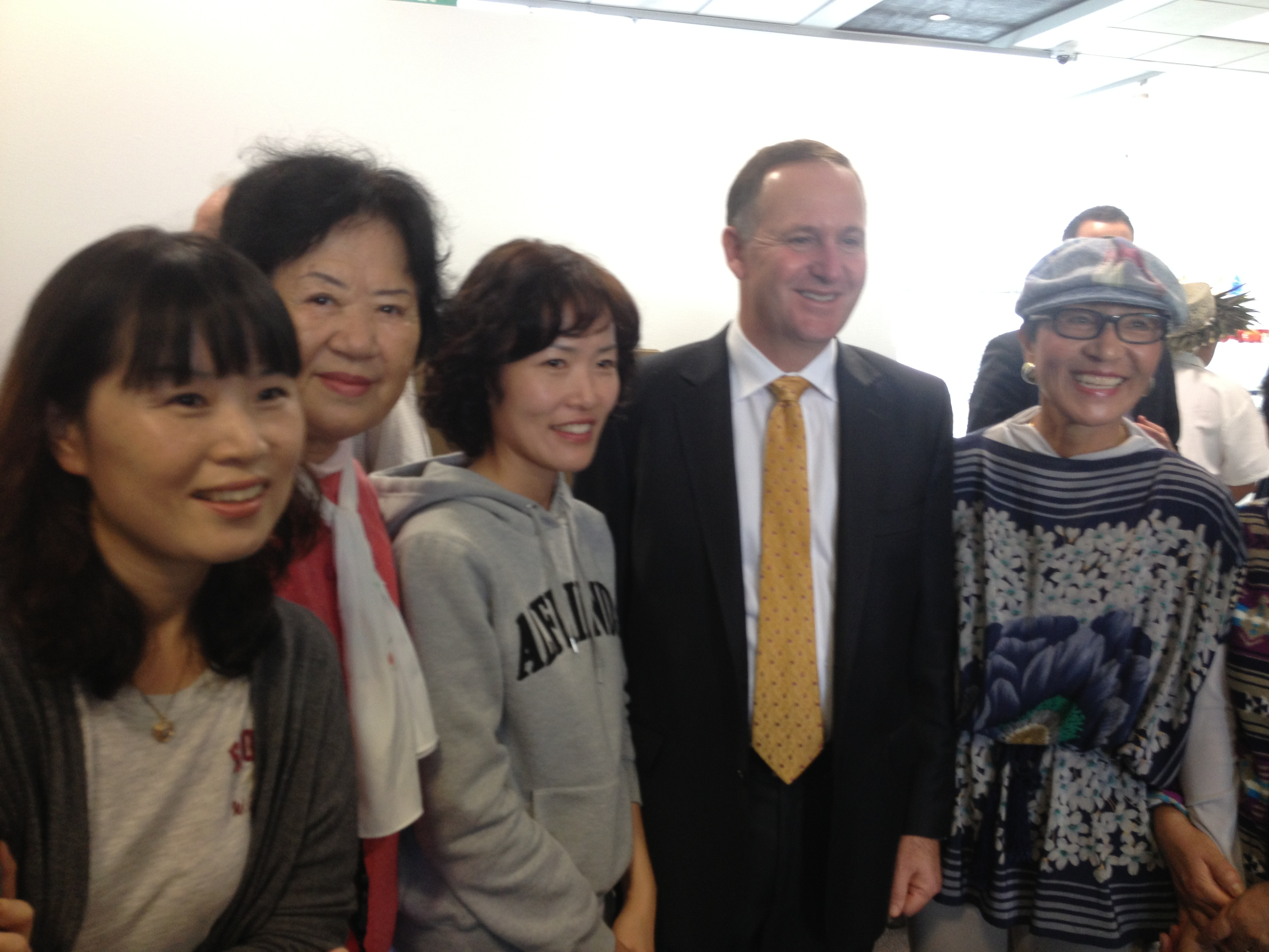DynaSpeak Class Event: New Zealand Prime Minister meets DynaSpeak Students!